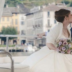 From California to Lake Orta: a fairy tale wedding on a small romantic Lake