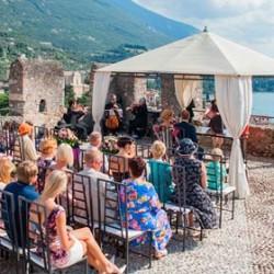 A Gorgeous Estonian Wedding on Lake Garda