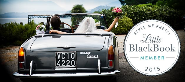 Italian Lakes Wedding on Style Me Pretty Little Black Book