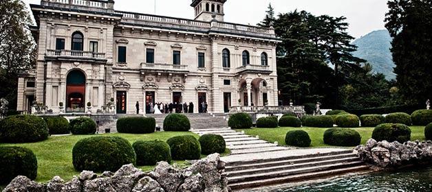 Villa Erba a wonderful venue for your wedding on Lake Como
