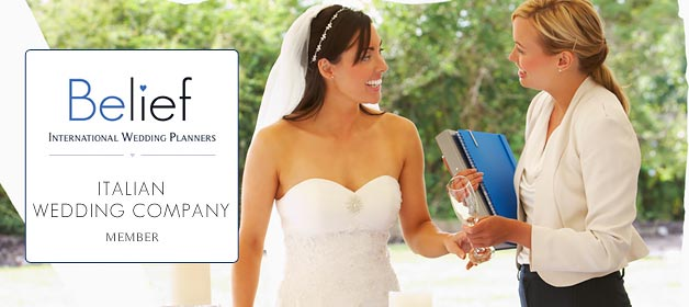 Italian Wedding Company and Italian Lakes Wedding joined BELIEF International Wedding Planners