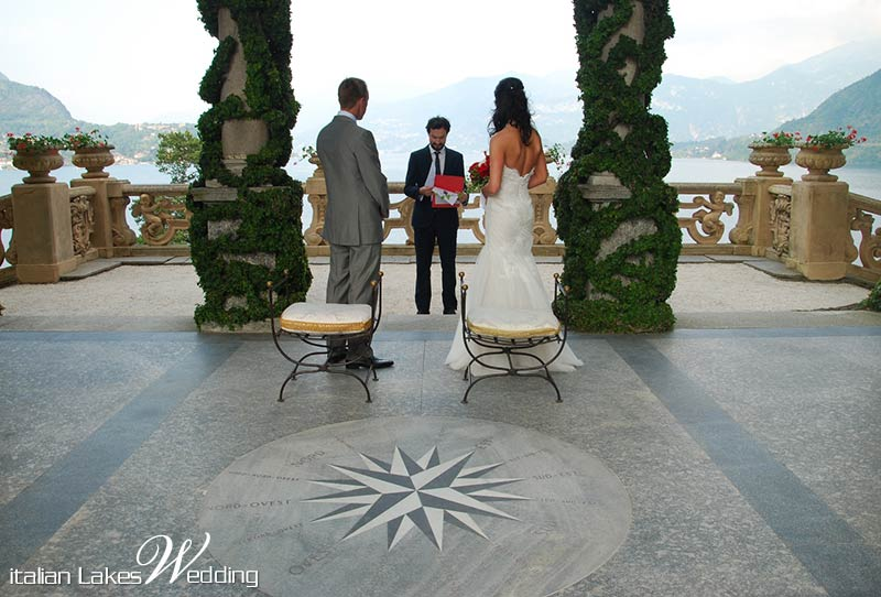 Jessica and Greg's wedding on Lake Como