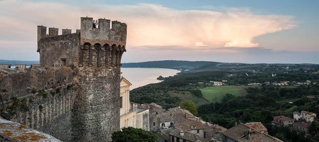 Odescalchi Castle on Lake Bracciano… just a dream close to Rome!