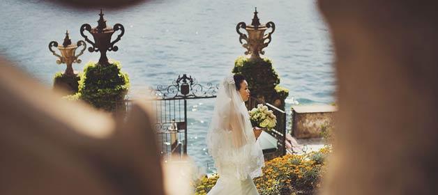 The magic of a fabulous wedding on Lake Como