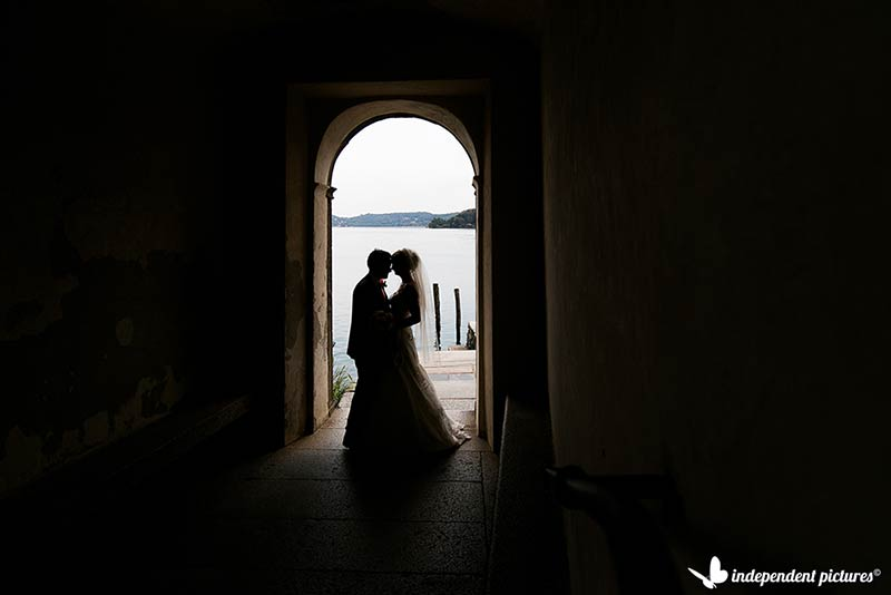 Alyson and Leigh's wedding on Lake Orta