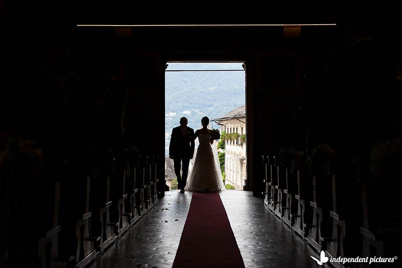 Sarah and Richard's wedding on Lake Orta