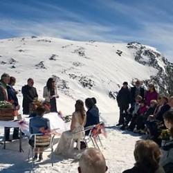 Sonne und Schnee am Monte Rosa, ein ganz besonderer Tag für Laura und Russel