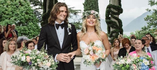 A classy destination wedding on Lake Como