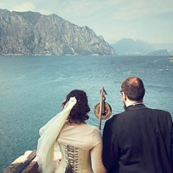 A Medieval inspired Wedding in Malcesine