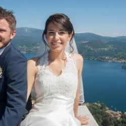 A Wedding with a breathtaking view over Lake Orta and Lake Maggiore