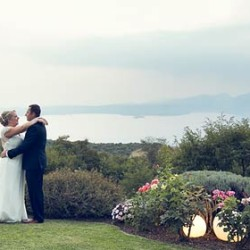 A wonderful wedding overlooking Lake Garda with a Michelin starred dinner