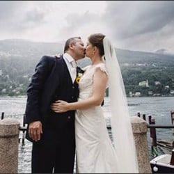 A dreamy wedding day in Stresa