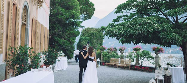 Romanticism and elegance for an Italian style wedding on Lake Como