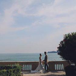 A wonderful summer wedding on Isola del Garda