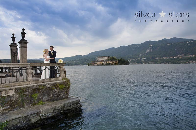 Graeme and Elaine elope on Lake Orta