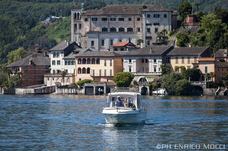 Elisa and Pietro' wedding on Lake Orta