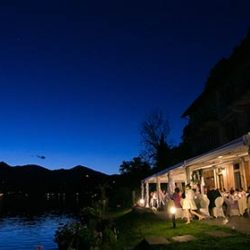 Romantic Lake Orta – a fun and laid down wedding party by the shores