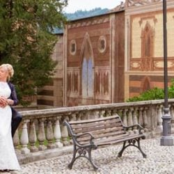 A Blues Wedding on Lake Orta