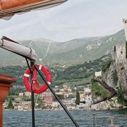 A romantic wedding in Malcesine, a special view on Lake Garda