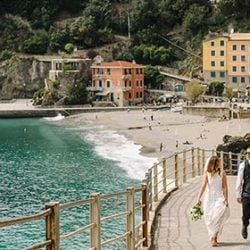 A romantic wedding in Cinque Terre