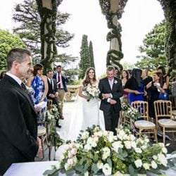 An intimate and elegant wedding on Lake Como
