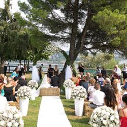 Lakeside Ceremony at the Rocca di Arona