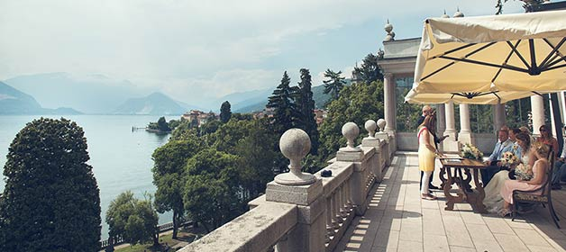 Villa Giulia: Legal Civil ceremonies outdoor on Lake Maggiore