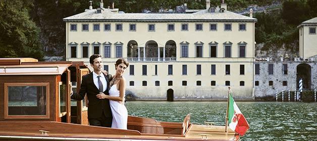 A wonderful venue for a luxury wedding on Lake Como