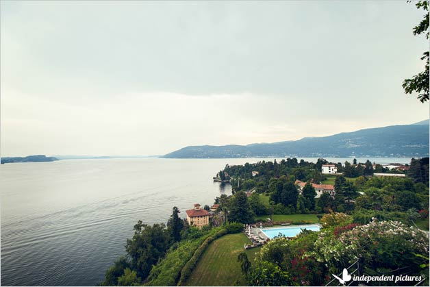 wedding villa in Pallanza stunning view Lake Maggiore