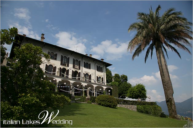 wedding villa Pallanza stunning view Lake Maggiore