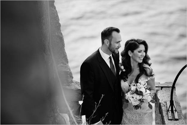 Castle wedding ceremony in Malcesine Lake Garda