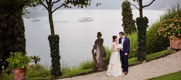 The importance of details for an intimate wedding on Lake Como