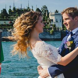 A Ferragosto Wedding on Lake Maggiore: Olia and Pierre's wedding story