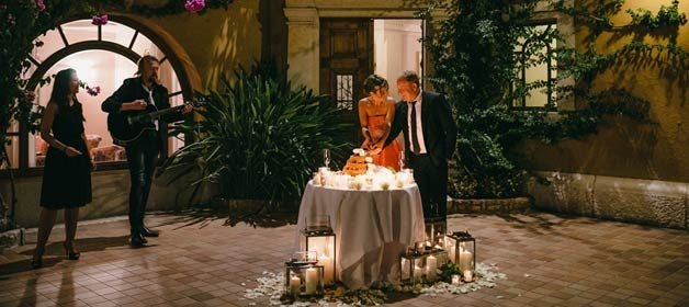 An Intimate Wedding In Verona The City Of Shakespeares Romeo And Julies