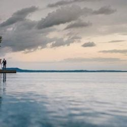 A refined and chic wedding on Isola del Garda