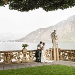 Intimacy and tradition for a Scottish wedding on Lake Como
