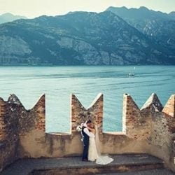 Malcesine Castle, a wonderful location for a fantastic wedding on Lake Garda