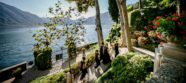 Cheerfulness and romanticism on Lake Como shores