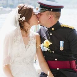A Military Wedding on Lake Orta