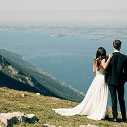 Being in history and nature for your elope on Lake Garda