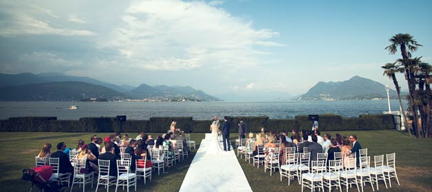 Two days wedding in chic Stresa on Lake Maggiore shores