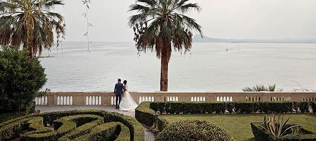 A fabulous destination for a sparkling wedding at Isola del Garda
