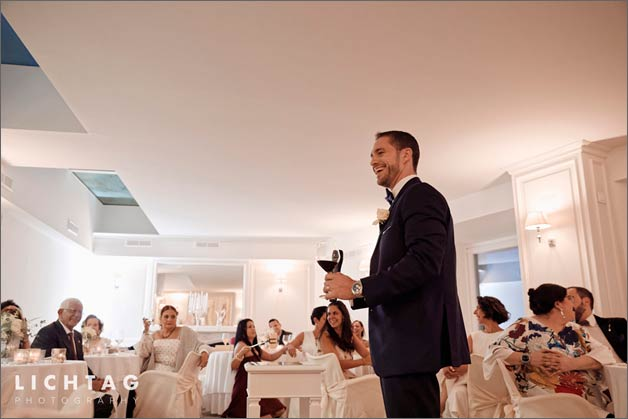 wedding reception sirmione lake garda