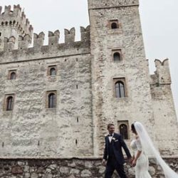 A wedding in Sirmione, a charming village on Lake Garda