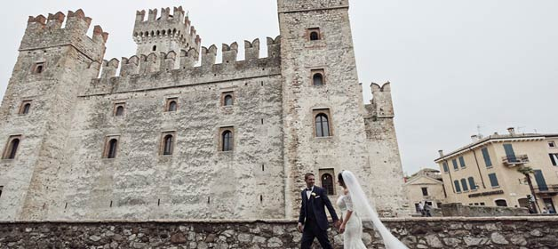A wedding in Sirmione, a charming village on Lake Garda