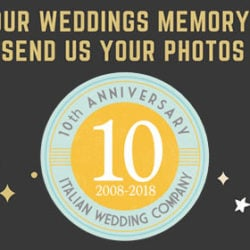 HAPPY BIRTHDAY Italian Wedding Company! 10 years of Destination Weddings in Italy