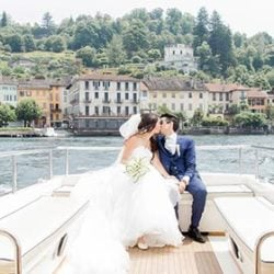 Feeling incredibly romantic with a wedding on Lake Orta
