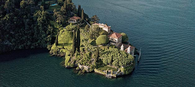 Villa del Balbianello wedding rental fees