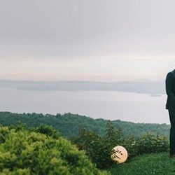 A romantic wedding on Lake Garda