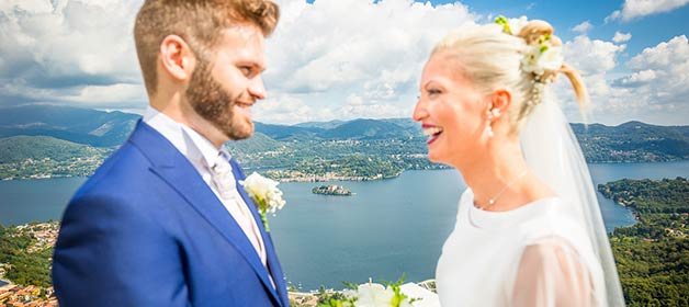 Wedding Theme: Views over Lake Orta